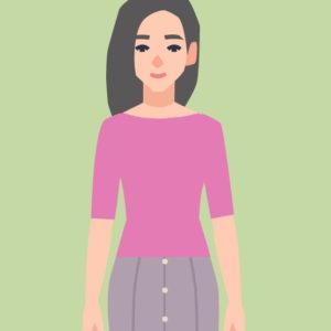 モデルオーディション用の服装